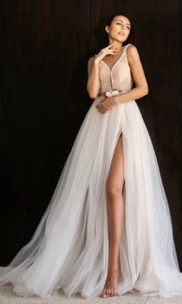 Соблазнительное свадебное платье