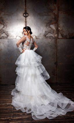платье силуэта «русалка»-трансформер