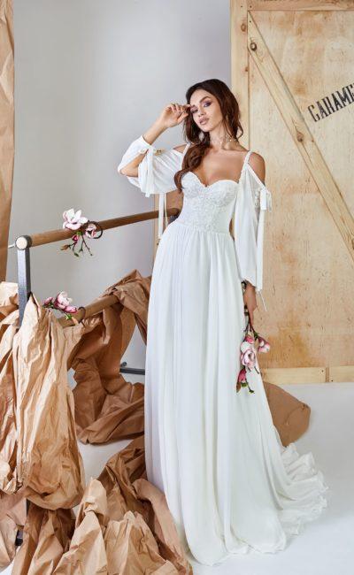 Летнее прямое платье