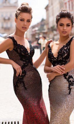 Блестящее платье русалка