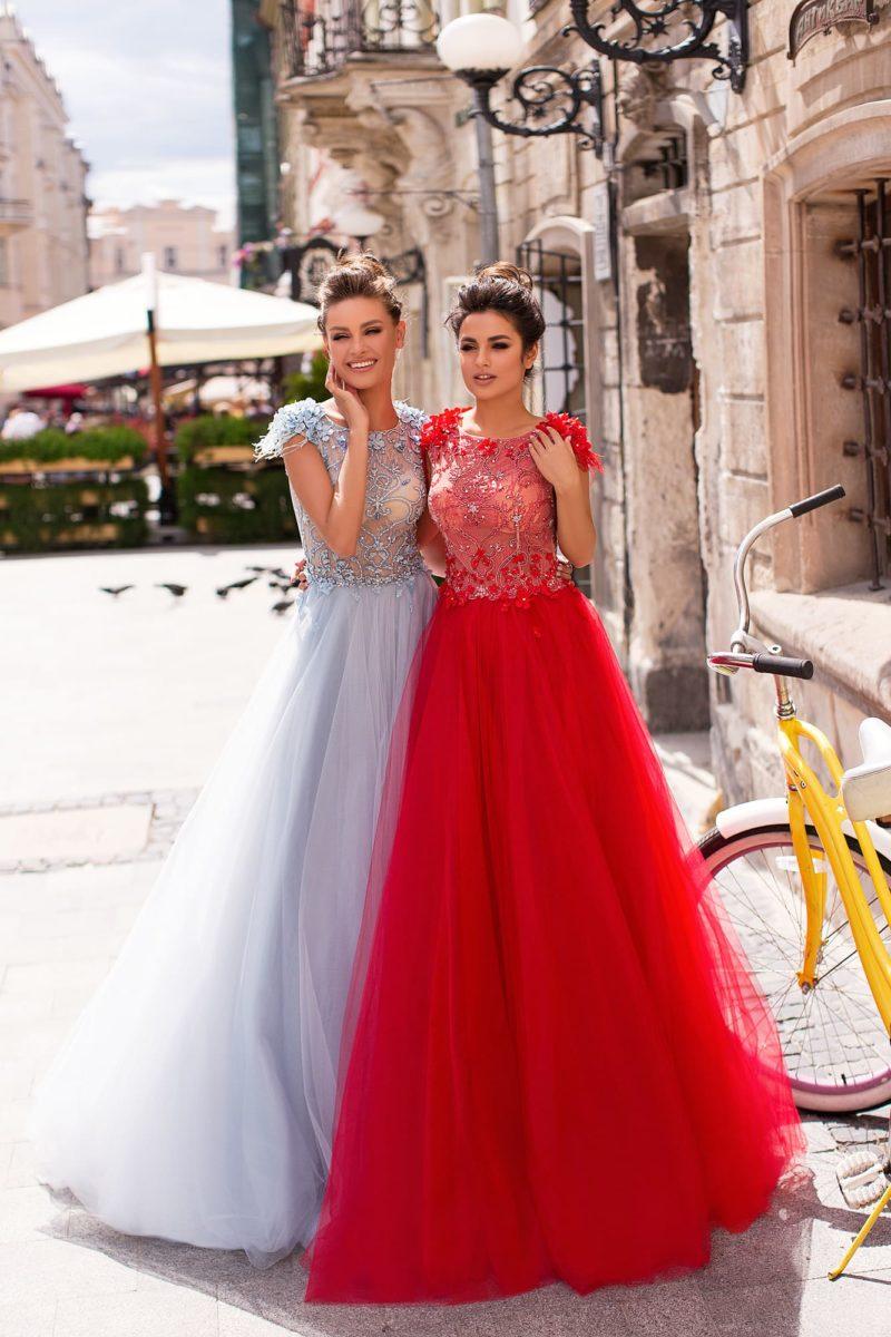 Потрясающее нарядное платье для выпускного вечера