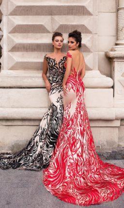 Кружевное платье «русалка»