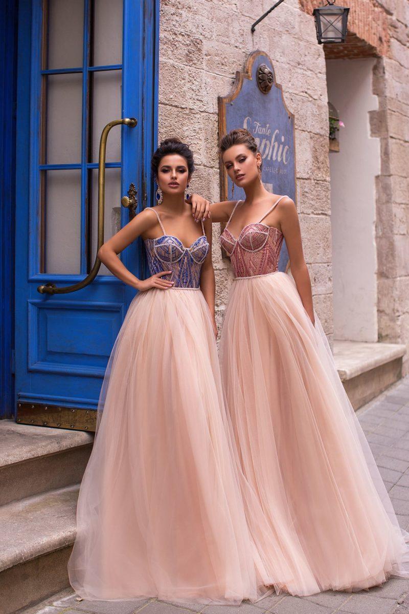 Торжественное вечернее платье