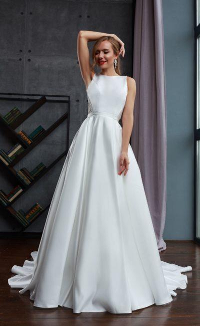 Традиционное свадебное платье для классической церемонии