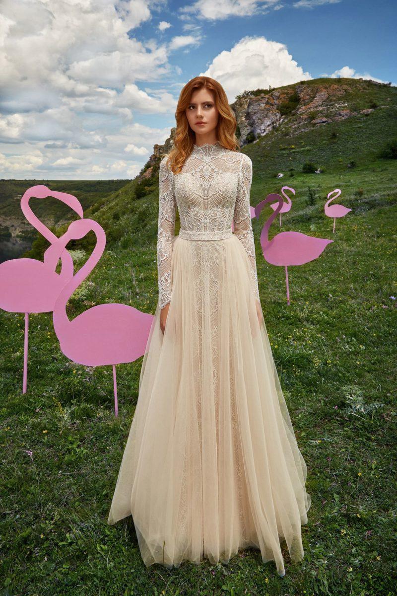 Свадебное платье на венчание
