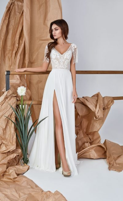 Свадебное платье на лето