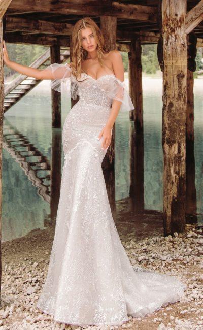 Открытое платье фасона рыбка