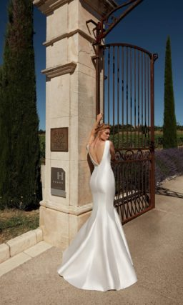 Грациозное свадебное платье