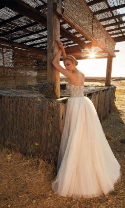 свадебное платье цвета оттенка айвори