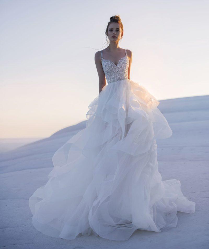 свадебное платье для стильного и актуального образа