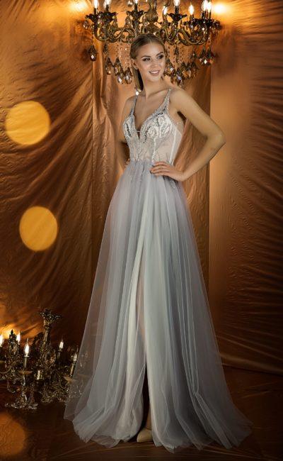 d6f13d327e1 Белые длинные вечерние платья ▷ Свадебный Торговый Центр Вега - Москва