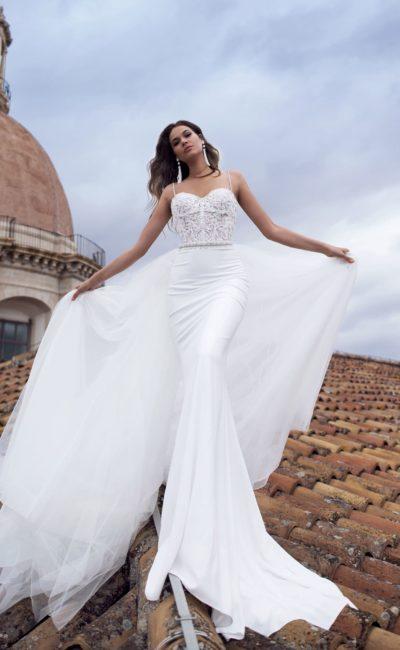 Свадебное платье силуэта «русалка» для актуального образа