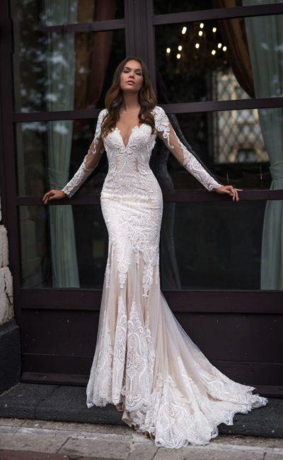 Платье силуэта «русалка»