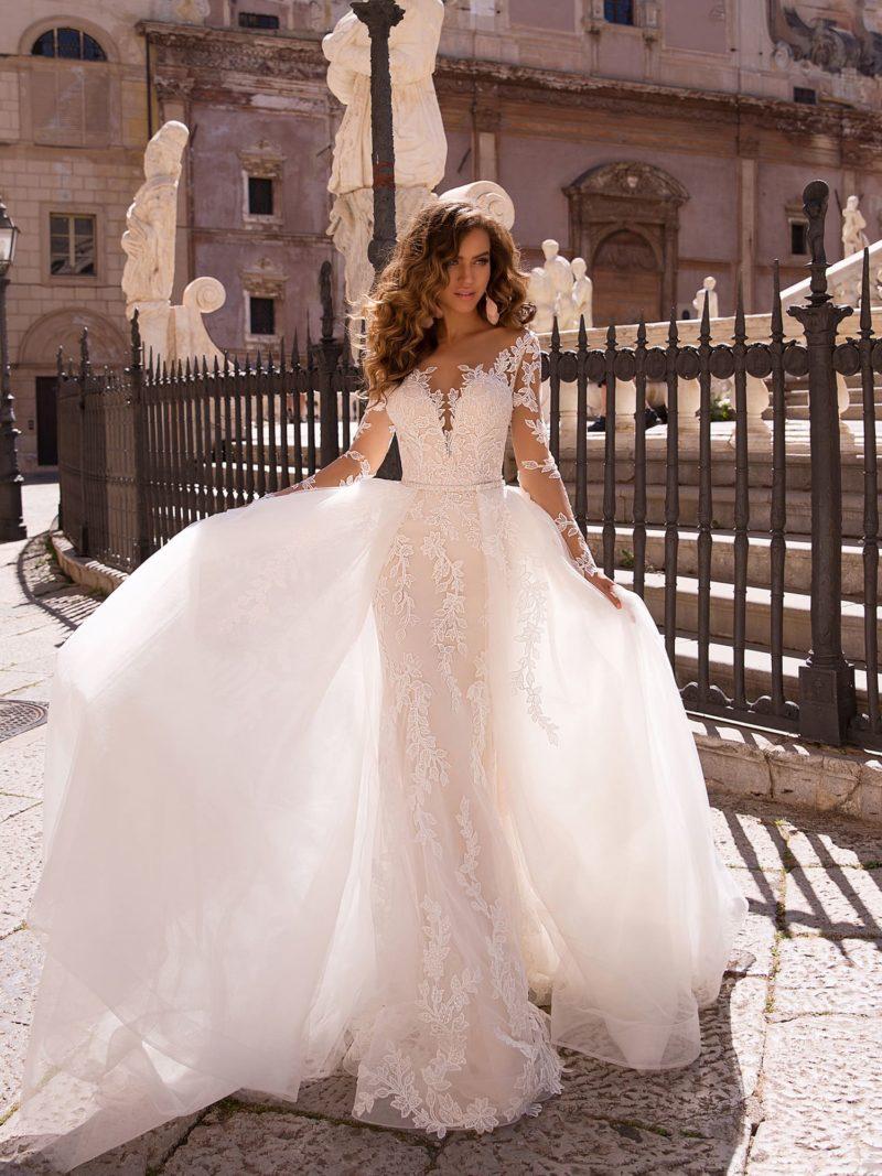 Чарующее свадебное платье-трансформер