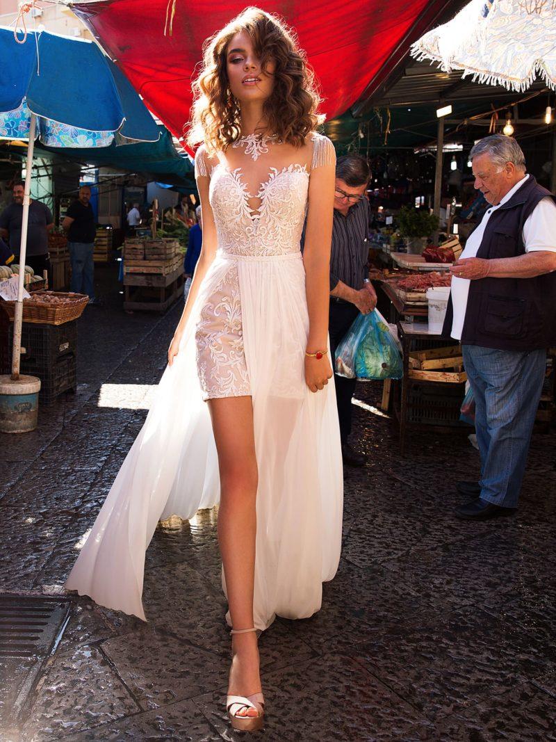Уникальное свадебное платье-трансформер