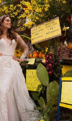 Свадебное платье «2 в 1»