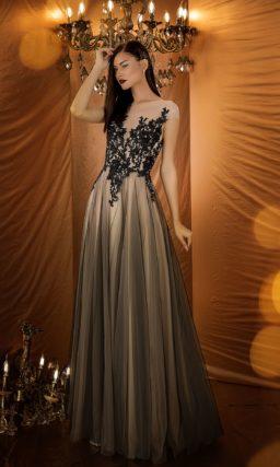 Эксклюзивное вечернее платье с приталенным силуэтом