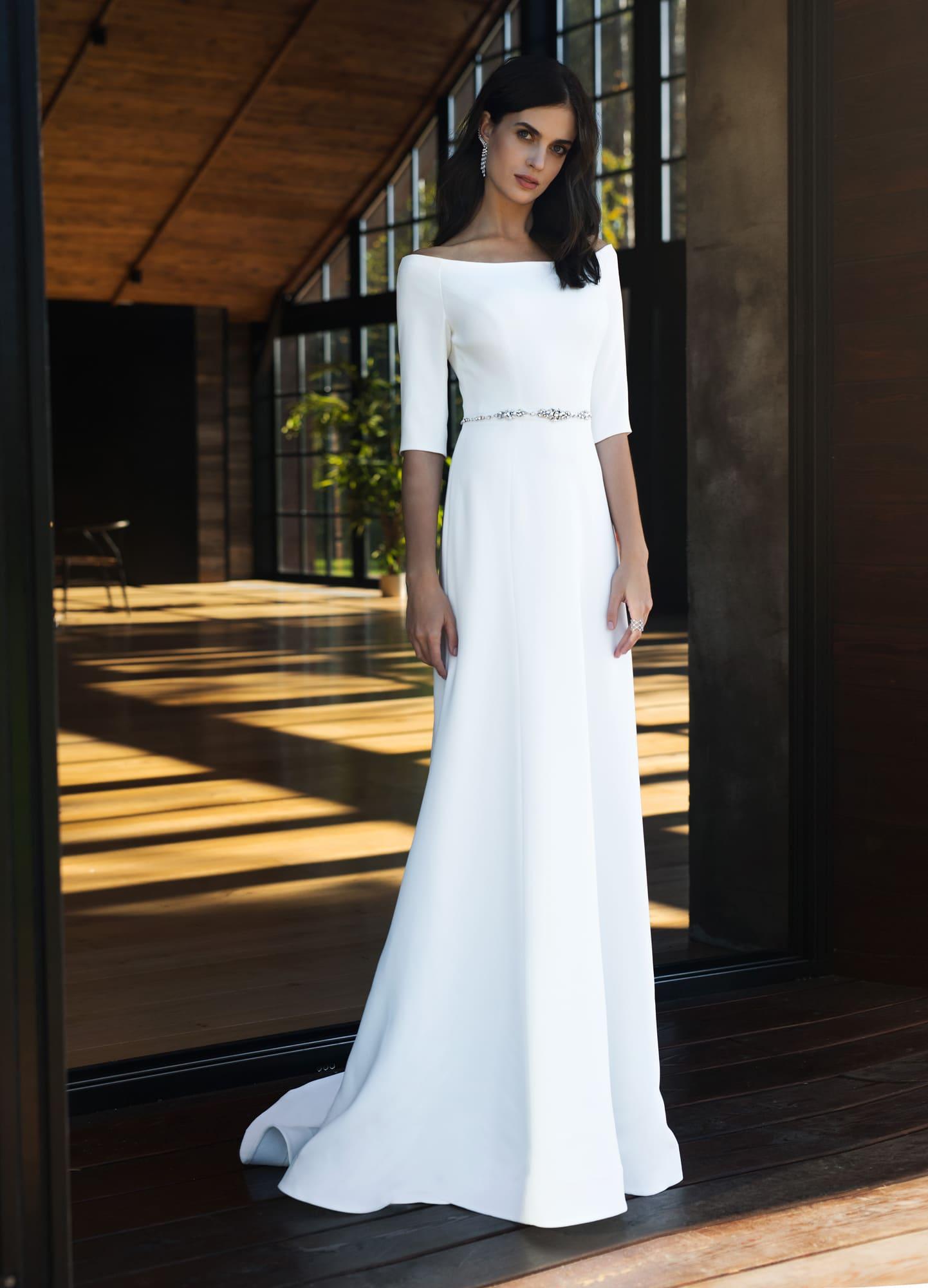 a0978667f06d8f2 Платье для венчания в церкви Natalia Romanova Ронда ▷ Свадебный ...