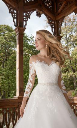 свадебное платье для настоящей леди
