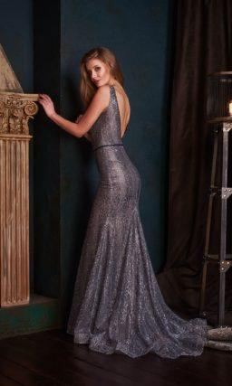 Броское и эффектное вечернее платье силуэта «русалка»