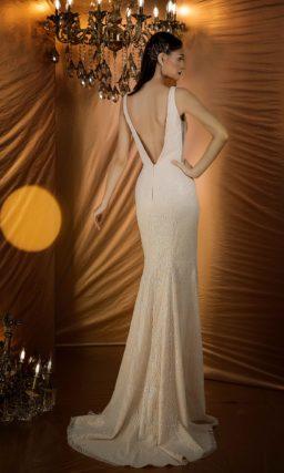 Торжественно-утонченное вечернее платье с силуэтом «русалка»