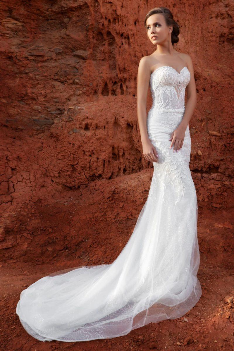 Изящное платье-трансформер силуэта «русалка»
