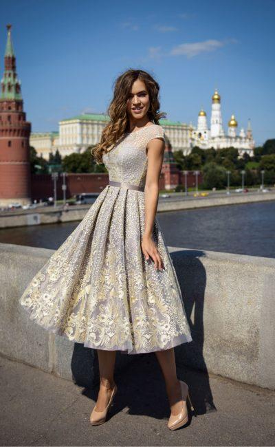 Выпускное короткое платье