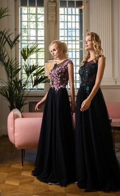Романтическое вечернее платье