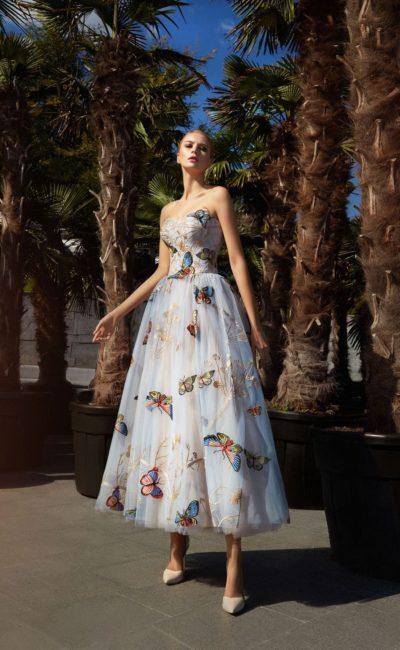 Выпускное платье с бабочками