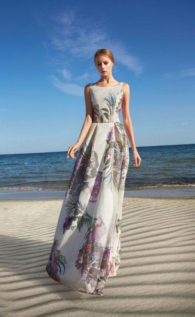 Платья с крупными цветами