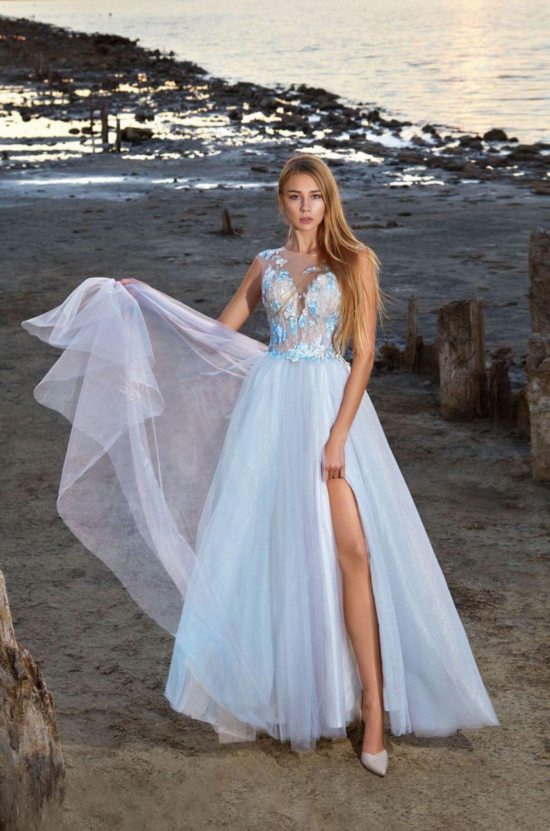 Длинное платье для выпускного бала