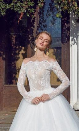 Платье для изящной и скромной невесты