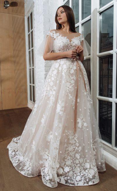 свадебное платье для полненькой невесты