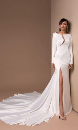 Дизайнерское свадебное платье русалка