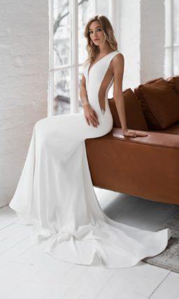 Европейское свадебное платье русалка