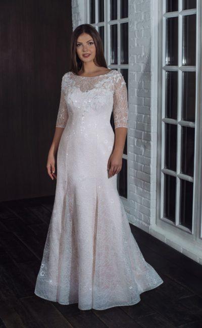 Платье русалка большого размера