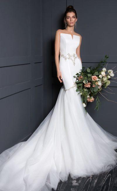 Современное платье русалка