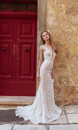 Платье-трансформер пудрового цвета