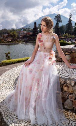 Летнее вечернее платье