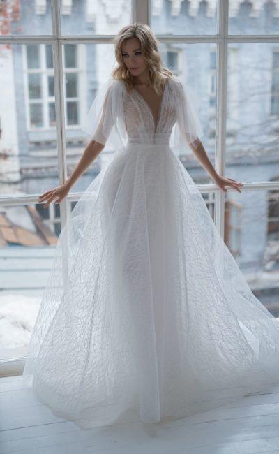свадебное платье из легких тканей