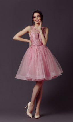 Коктейльное платье «бэби долл»