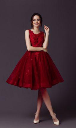 коктейльное платье до колен