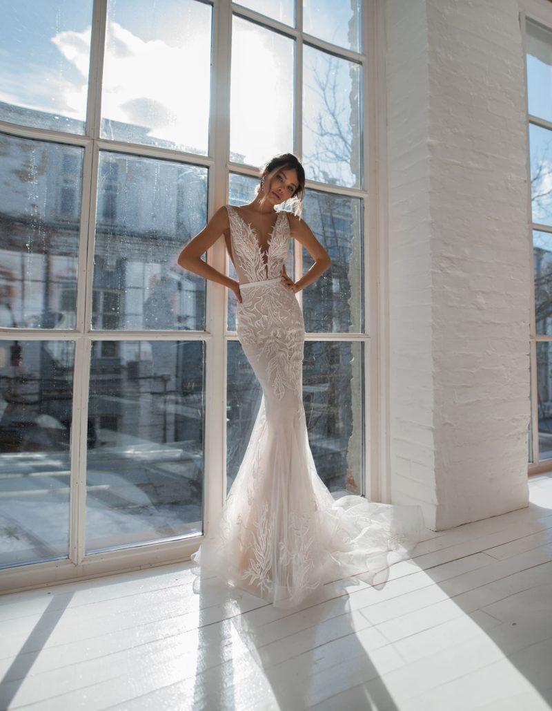 Платье «русалка» из фатина