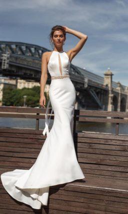 Современное платье рыбкой
