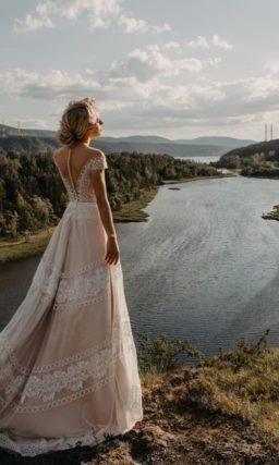 Роскошное свадебное платье