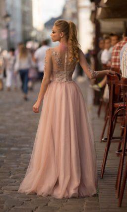 Платье на выпускной длинное