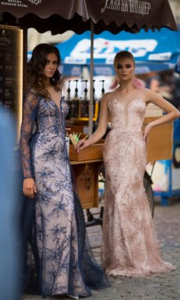 Платье русалка на выпускной