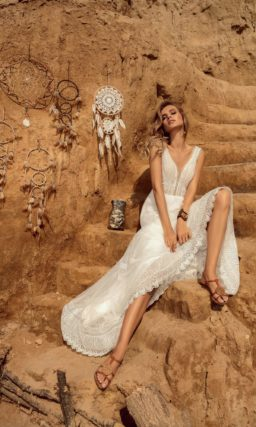 Летнее платье в стиле бохо