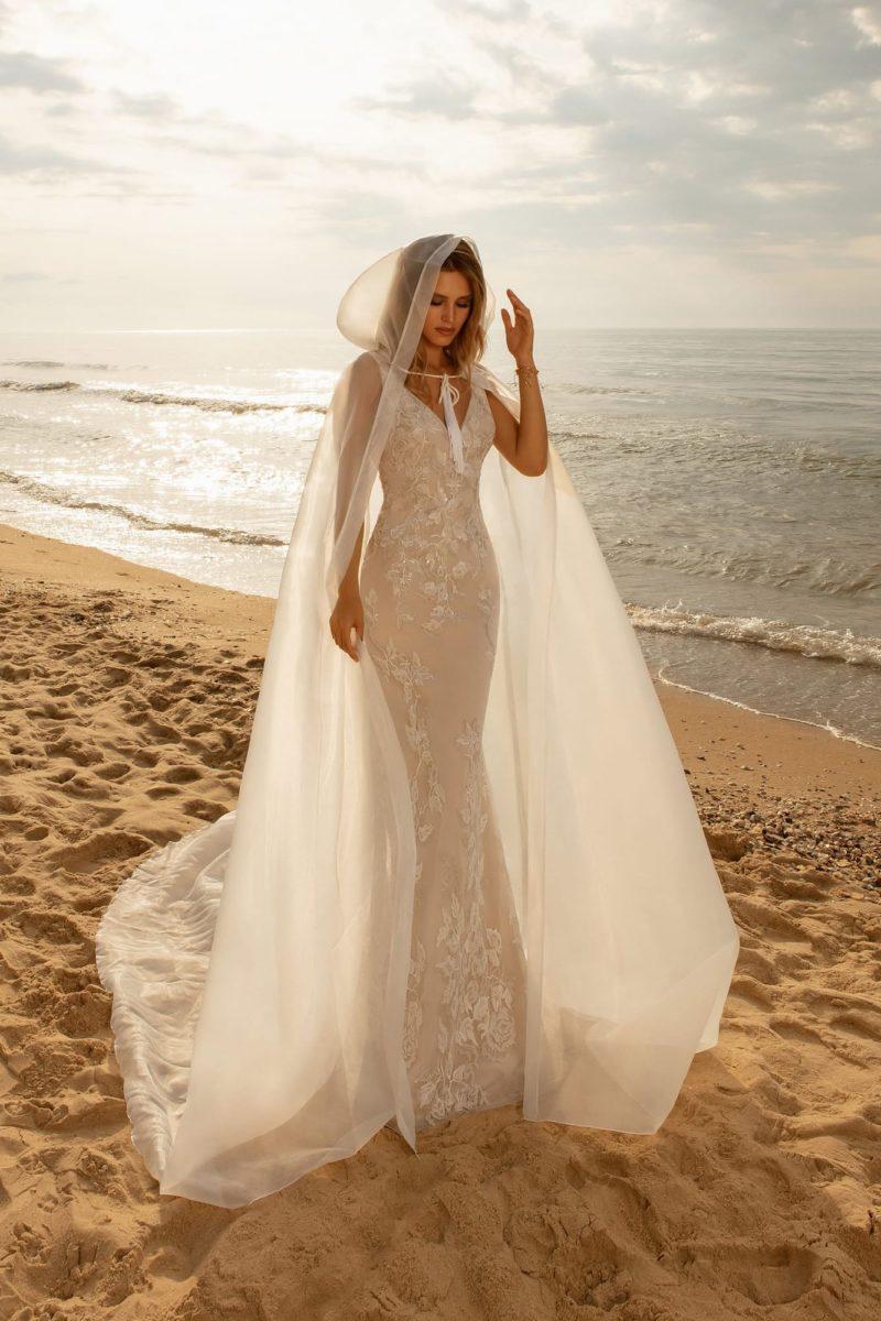 Свадебное платье стиль русалка