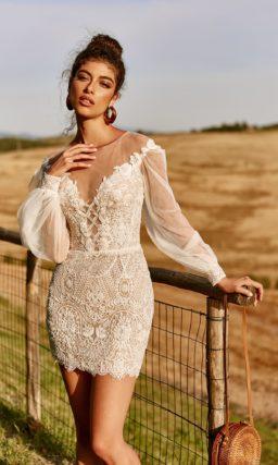 Свадебное платье-трансформер из кружева